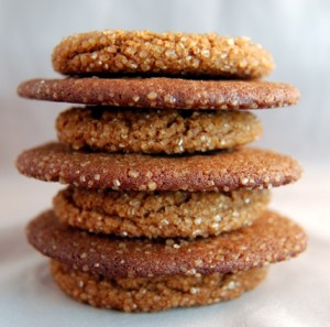 Mama's Gingersnap Cookies