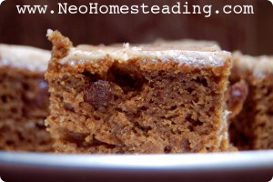 {Soaked} Brown Bread Cake with Cinnamon Cream Cheese Frosting