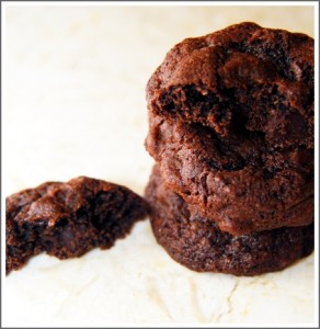 Chocolate-Chocolate Chip Cookies (Freeze & Bake)
