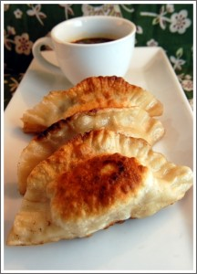 Chicken Sausage Pot-Stickers