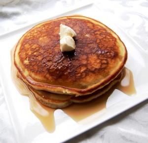 Perfect Pancakes (faux sourdough hot cakes)