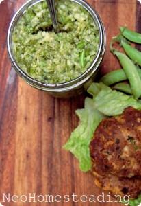Zucchini & Garlic Scape Relish