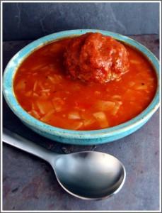 Golumpki Dumpling Soup
