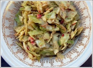 Krautsalat (White Cabbage Salad)
