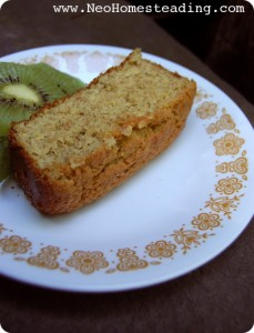 Grain Free- Almond and Flax Bread (Loaf Cake)