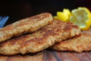 Schnitzel (breaded cutlets)