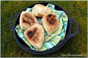 Irish Soda Farls (Skillet Scones)