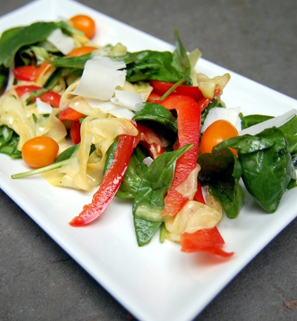 Shaved Summer Squash Salad | NeoHomesteading