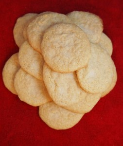 Cardamom Scented Sugar Cookies