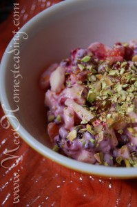 Husk Cherry Ambrosia Fruit Salad Duo