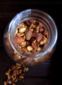 Sweet & Spicy Candied Nut Mix