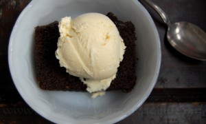 Black Gingerbread: Sprouted Wheat & Molasses Cake