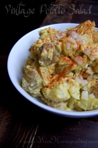 Vintage Potato Salad