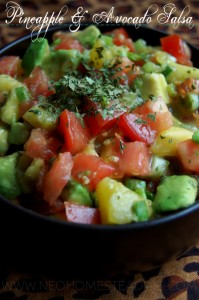 Pineapple & Avocado Salsa