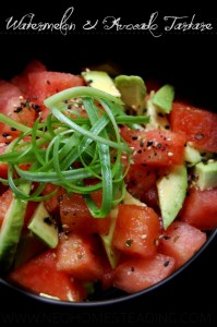 Watermelon & Avocado Tartare