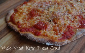 Kefir Pizza Crust: Nourishing Whole Wheat, Thin Crust Pizza in 15 minutes!