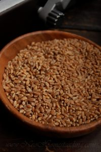 Storing, Milling and Traditionally Preparing Whole Organic Wheat