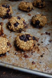 Healthy Banana + Oat Breakfast Cookies