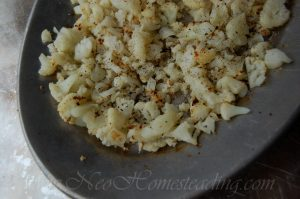 Roasted Cauliflower Rice