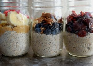 Soaked: Overnight Oats with Flax & Chia Seed